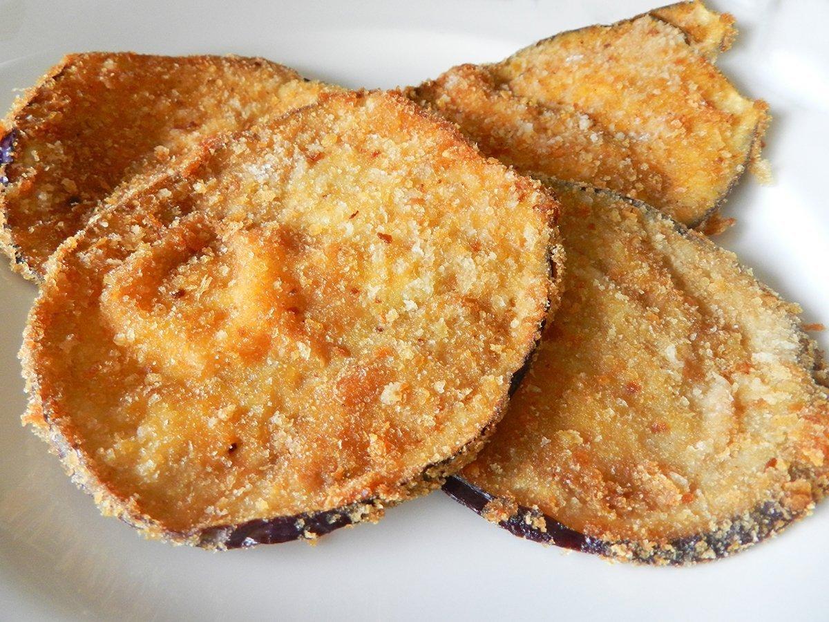 Melanzane impanate fritte ricette di sardegna for Melanzane ricette