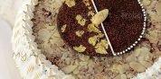 Torta di mandorle e cioccolato